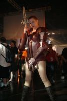 Amazon - Diablo II Cosplay by Winged-warrior