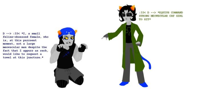 Nepeta: Roleplay by gluey-MACERONI