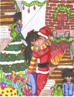 We see mommy kissing santa by Nessie-Noodlez