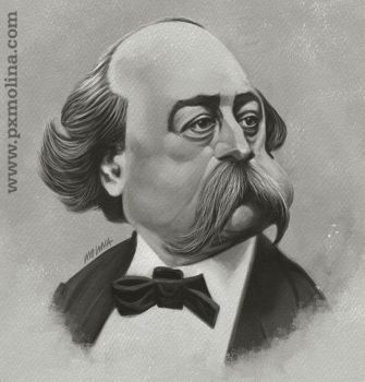 Gustave Flaubert... by pxmolina