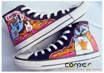 hungry moster shoes by JONY-CAKEP