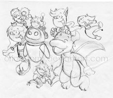 Doodle: Galactic Fun by OrionStorm