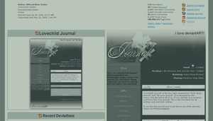 Lovechild .Free Journal. by bewarecalamity