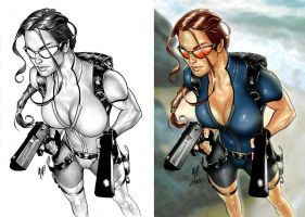Lara Croft : Tomb Raider by Lawnz