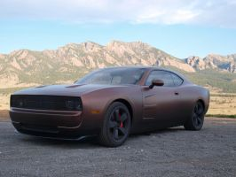 2010 Charger Concept by burningman