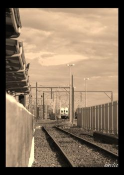 Wollongong Line South Sepia by dsx001