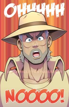 Joseph Joestar's Typical Reaction by marcotte