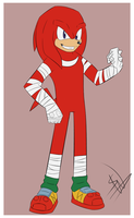 Sonic Boom: Knuckles by SonicWind-01