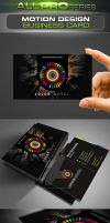 Motion Design Business Card by ravirajcoomar
