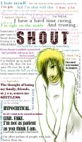 SHOUT IT OUT by mr-newsman