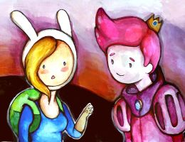 Fionna and Gumball by Rubysnuff
