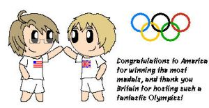 2012 Olympics-America and England by SonicFan3