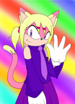 Art Trade: Amy the cat by RatsuTerra48
