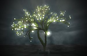 Cube tree with lights by ottov