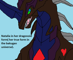 Natalia In Her Infinty Dragonoid Form by Natalia-Clark