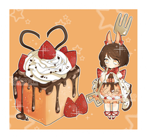 [CLOSED] Adopt #11: Strawberry Toast by Airianne