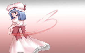 Remilia Scarlet by watermelon-celcius