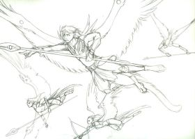 Wings of War - Sketch by Tigryph