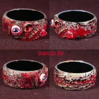 RotBangle Bracelet Zombie ooak by Undead-Art