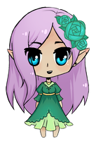Chibi Lavender by lady-largo