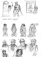 Doctor Who: sketches and gags by littledinosaurarms