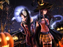 Halloween by xilveroxas