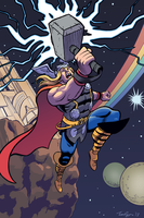 Thor colors by mistermuck