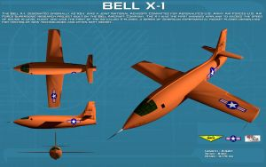 Bell X-1 ortho [new] by unusualsuspex