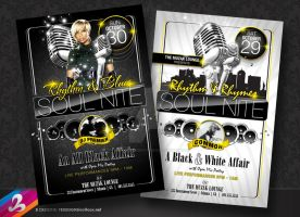 SOUL NITE Flyer Templates by AnotherBcreation