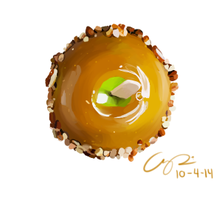 Caramel Apple Food Study by SorbetBerry