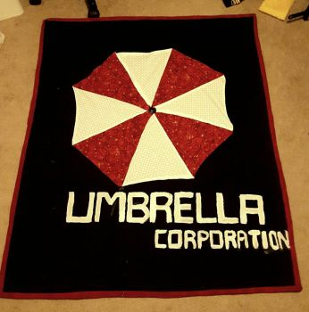Umbrella Corp. Quilt by ladyryu