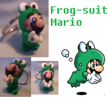 Frog suit Mario keychain by PoleDancingPickle