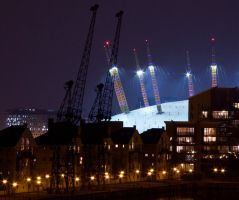 View of the dome.  o2 area by spurs06