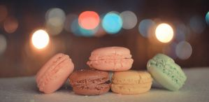 Macaroons and Bokeh by N1S