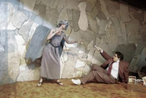 Weeping Angel and The 10th Doctor by rawien