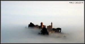CASTELBELLINO (AN) - EMERGING FROM THE FOG by MarcoLorenzetti
