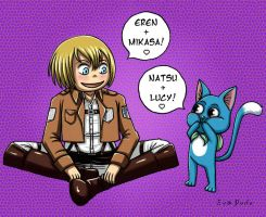 Armin and Happy by Eva-Dudu