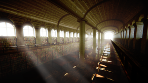 The Great Library by Waddell3D