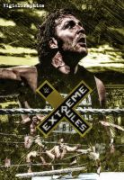 WWE Extreme Rules V2 Poster by VigielGraphics by vigielgraphics