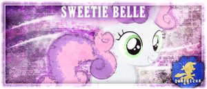 [Sig] Tagwall | Sweetie Belle by Paradigm-Zero