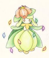 Lilligant by UnoChara