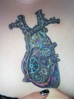 Coloured Clockwork Heart by bataleigh