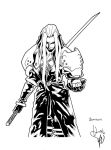 Sephiroth by scabrouspencil by gz12wk