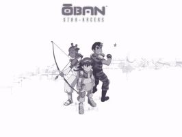 Oban Star Racers - Us by hana-sugeru