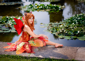 Autumn's fairy 5 by LadyGiselle