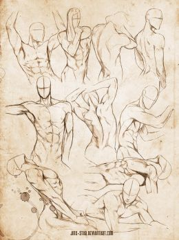 +MALE BODY STUDY VI+ by jinx-star