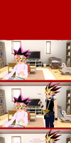MMD - Yu-Gi-Oh - Yami's cheesey pick up lines by InvaderBlitzwing