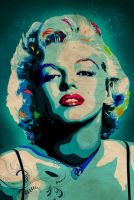 Marilyn II by Monzer