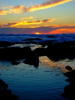 Lincoln City Sundown by Thundercatt99