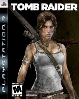 Tomb Raider Reborn PS3 game cover by AnnieCroft